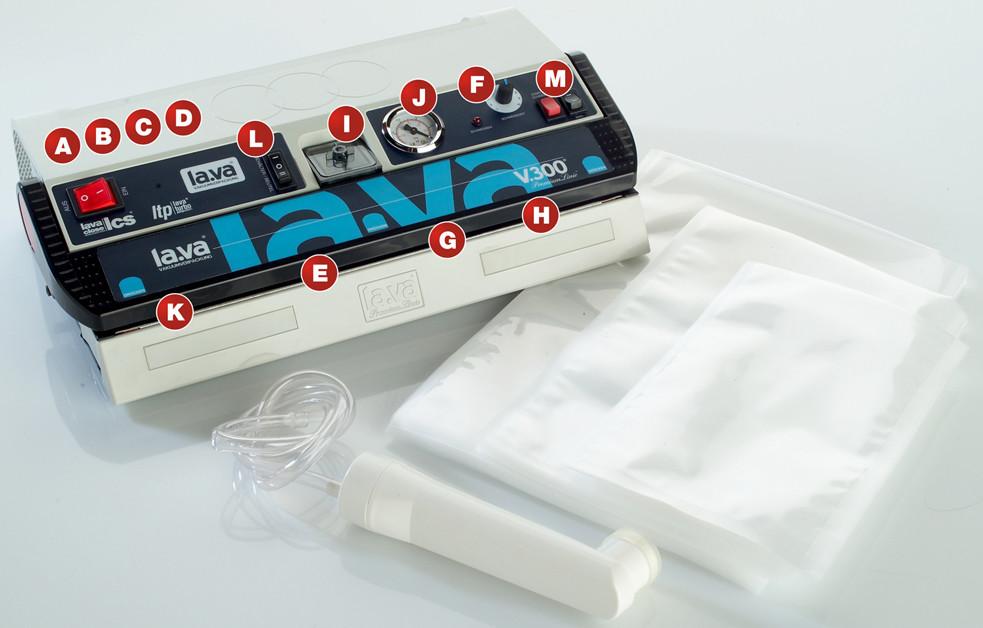 functies lava vacuum sealer