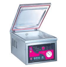 vacuümmachine met vacuümkamer
